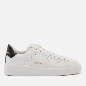 Golden Goose Deluxe Brand Women's Pure Star Chunky Leather Trainers - White/Black
