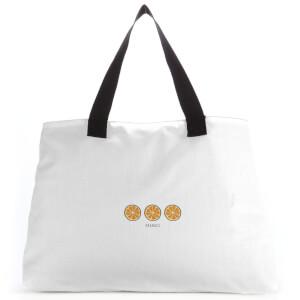Oranges Large Tote Bag