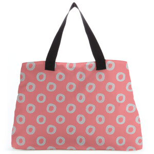 Circles Large Tote Bag