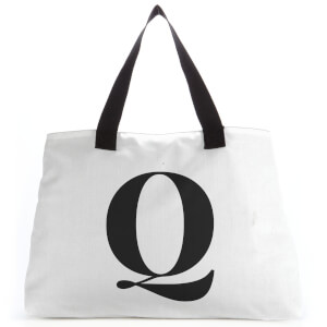Q Large Tote Bag