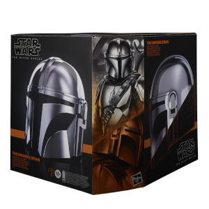 Casco Electrónico The Mandalorian a Tamaño Real - Hasbro Star Wars The Black Series