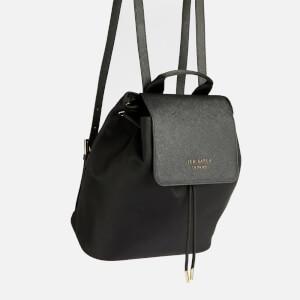 Ted Baker Women's Naome Nylon Drawstring Backpack - Black