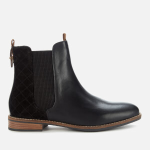 Barbour Women's Badminton Leather Chelsea Boots - Black