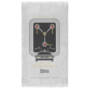 Back to the Future Flux Capacitor - Fitness Towel