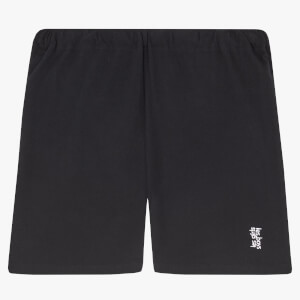 Les Girls Les Boys Women's Jersey Apparel Tight Shorts - Black