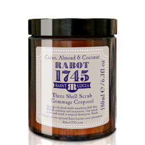 Cacao, Almond & Coconut Three Shell Scrub 180ml
