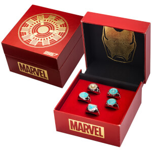 Marvel's Iron Man Arc Reactor Ring Limited Edition Replica Set