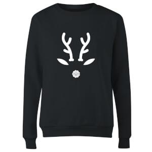 GLOSSYBOX Reindeer Women's Christmas Jumper - Black