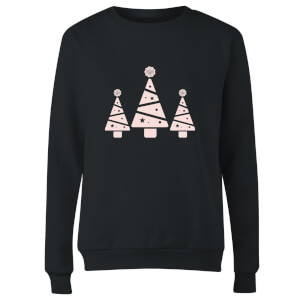 GLOSSYBOX Glossy Trees Women's Christmas Jumper - Black