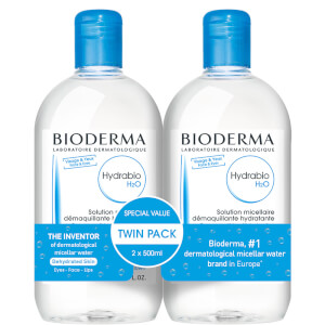 Bioderma Hydrabio hydrating micellar water Duo Pack