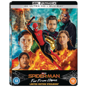 Spider-Man: Far From Home - Steelbook Lenticulaire 4K Ultra HD (Blu-ray Inclus) - Exclusivité Zavvi