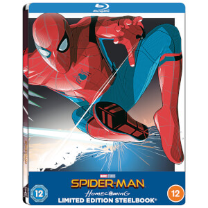 Spider-Man Homecoming - Zavvi Exclusive Lenticular Steelbook (Includes Blu-ray)