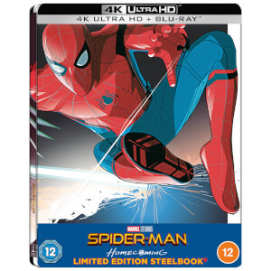 Spider-Man Homecoming - Zavvi Exklusives 4K Ultra HD Lenticular Steelbook (Inkl. Blu-ray)