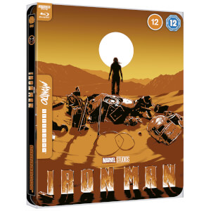 Marvel Studios' Iron Man - Mondo #44 Zavvi Exclusive 4K Ultra HD Steelbook (includes Blu-ray)