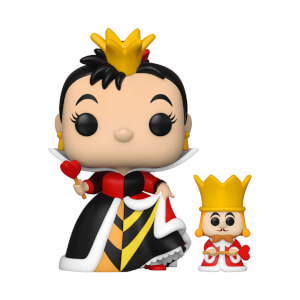 Disney Alice in Wonderland 70th Queen of Hearts with King Funko Pop! Vinyl