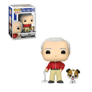 Frasier Martin with Eddie Funko Pop! Vinyl