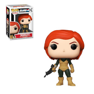 POP Vinyl: G.I. Joe- Scarlett