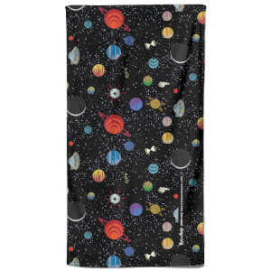 Rick and Morty Space Pattern Bath Towel