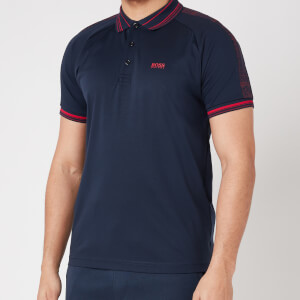 BOSS Athleisure Men's Paddy 4 Polo Shirt - Navy