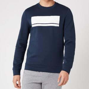 BOSS Athleisure Men's Salbo 1 Sweatshirt - Navy