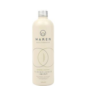 Waken Mouthwash Elderflower & Mint 500ml