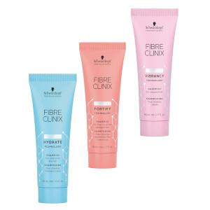 Schwarzkopf Professional Fibre Clinix Hydrate / Fortify / Vibrancy Shampoo