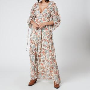 Free People Women's Earthfolk Maxi Dress - Tea Combo