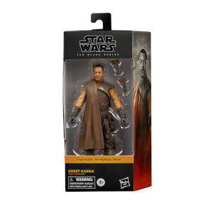 Figura de Acción Hasbro Star Wars The Black Series Greef Karga