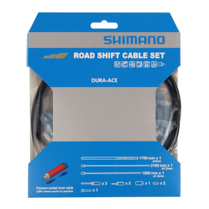 Shimano Dura-Ace Polymer Coated Road Gear Cable Set