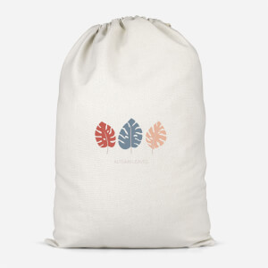 Autumn Leaves Cotton Storage Bag
