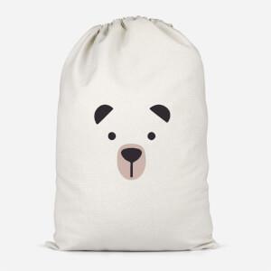 Cute Bear Cotton Storage Bag