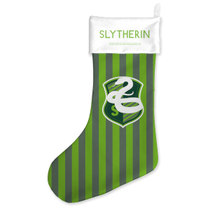 Slytherin House Christmas Stocking