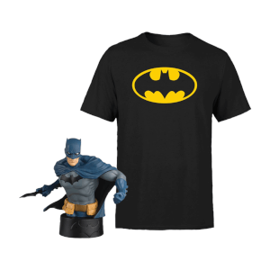 Bundle Batman T-Shirt + Busto Eaglemoss