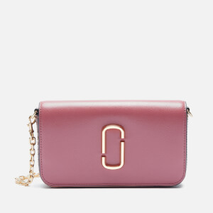 Marc Jacobs Women's Crossbody with Chain - Dusty Ruby Multi
