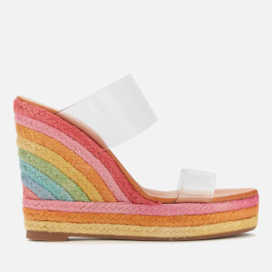 Kurt Geiger London Women's Ariana Wedged Sandals - Multi