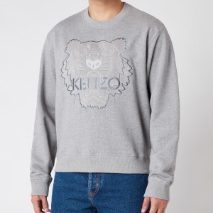KENZO Men's Icon Sweatshirt - Pearl Grey - XXL