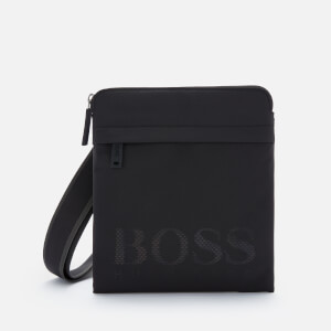 BOSS Men's Magnif214_S Zip Shoulder Bag - Black