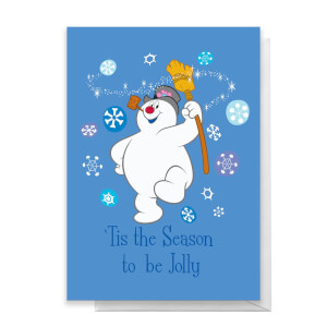 Tis The Season To Be Jolly Greetings Card