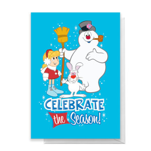 Celebrate The Season Greetings Card