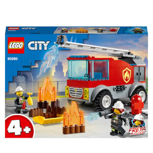 LEGO City: Fire Ladder Truck Building Set (60280)
