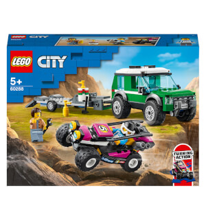 LEGO City Great Vehicles: Race Buggy Transporter (60288)