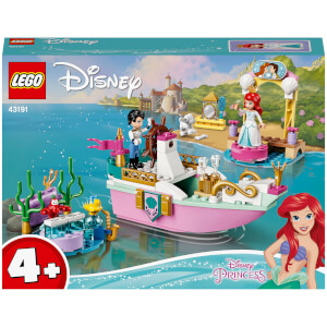 LEGO Disney Princess: Ariel's Celebration Boat Toy (43191)