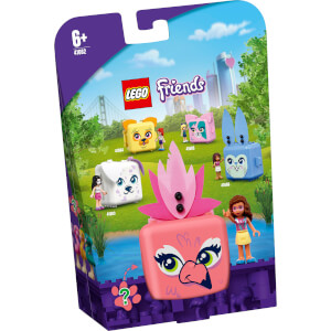 LEGO® Friends: Olivias Flamingo-Würfel (41662)