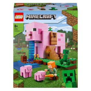 LEGO Minecraft: The Pig House Building Set (21170)