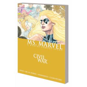 Marvel Civil War: Ms. Marvel Graphic Novel Paperback