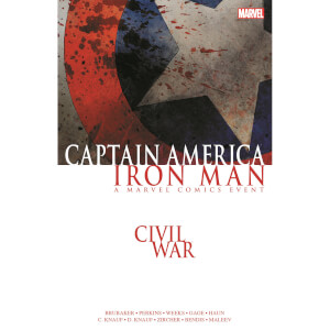 Marvel Civil War: Captain America/Iron Man Graphic Novel Paperback