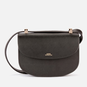 A.P.C. Women's Mini Geneve Shoulder Bag - Black