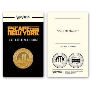 John Carpenter's - Escape From New York Limited Edition Gold Collector Coin