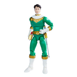 Hasbro Power Rangers Lightning Collection Zeo IV Green Ranger Figure