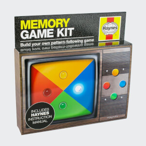 Franzis Haynes Build Your Own Memory Game Kit
